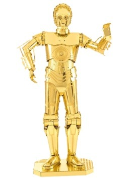 Metal Earth Star Wars C-3PO Model Kit update 1
