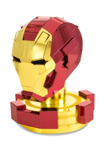 Metal Earth Iron Man Helmet Model Kit