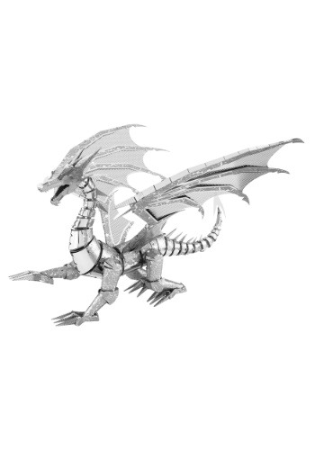 Metal Earth Silver Dragon 3 Sheet Model Kit-update1
