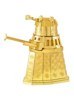 Metal Earth Doctor Who Gold Dalek Model Kit