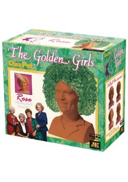Chia Pet The Golden Girls Rose