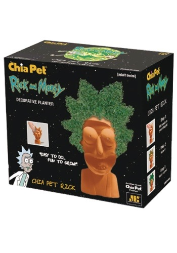 Rick Morty Rick Chia Pet