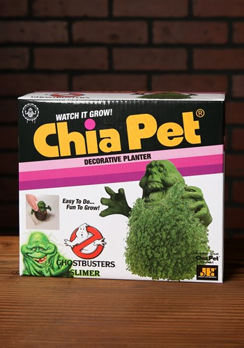Ghostbusters Slimer Chia Pet Updated