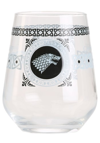 15 oz Stark Square Logo Stemless Wine Glass