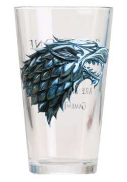 Game of Thrones Stark 16 oz Pub Glass
