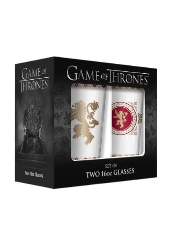 Lannister 16oz  2 Pack Pub Glasses