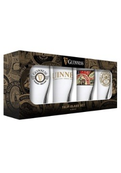 Guinness Tulip Glass 4 Pack