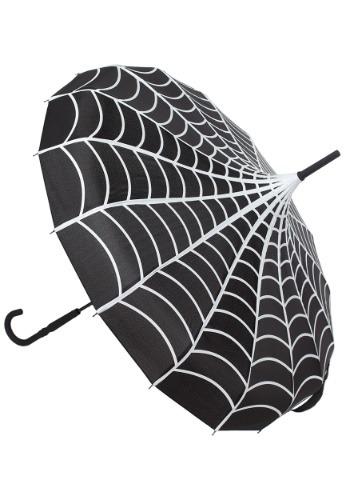 Sourpuss Spiderweb Pagoda Umbrella Main Update