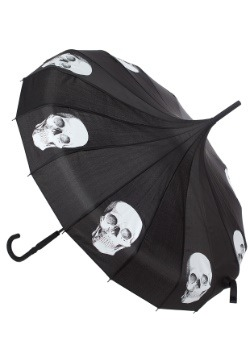 Sourpuss Clothing Skull Pagoda Umbrella Main Update