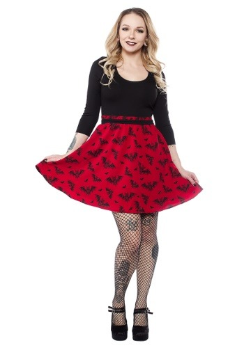 Sourpuss Batt Attack Scoop Halloween Dress