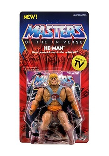 Masters of the Universe He-Man Vintage 5 1/2-Inch Action Fig