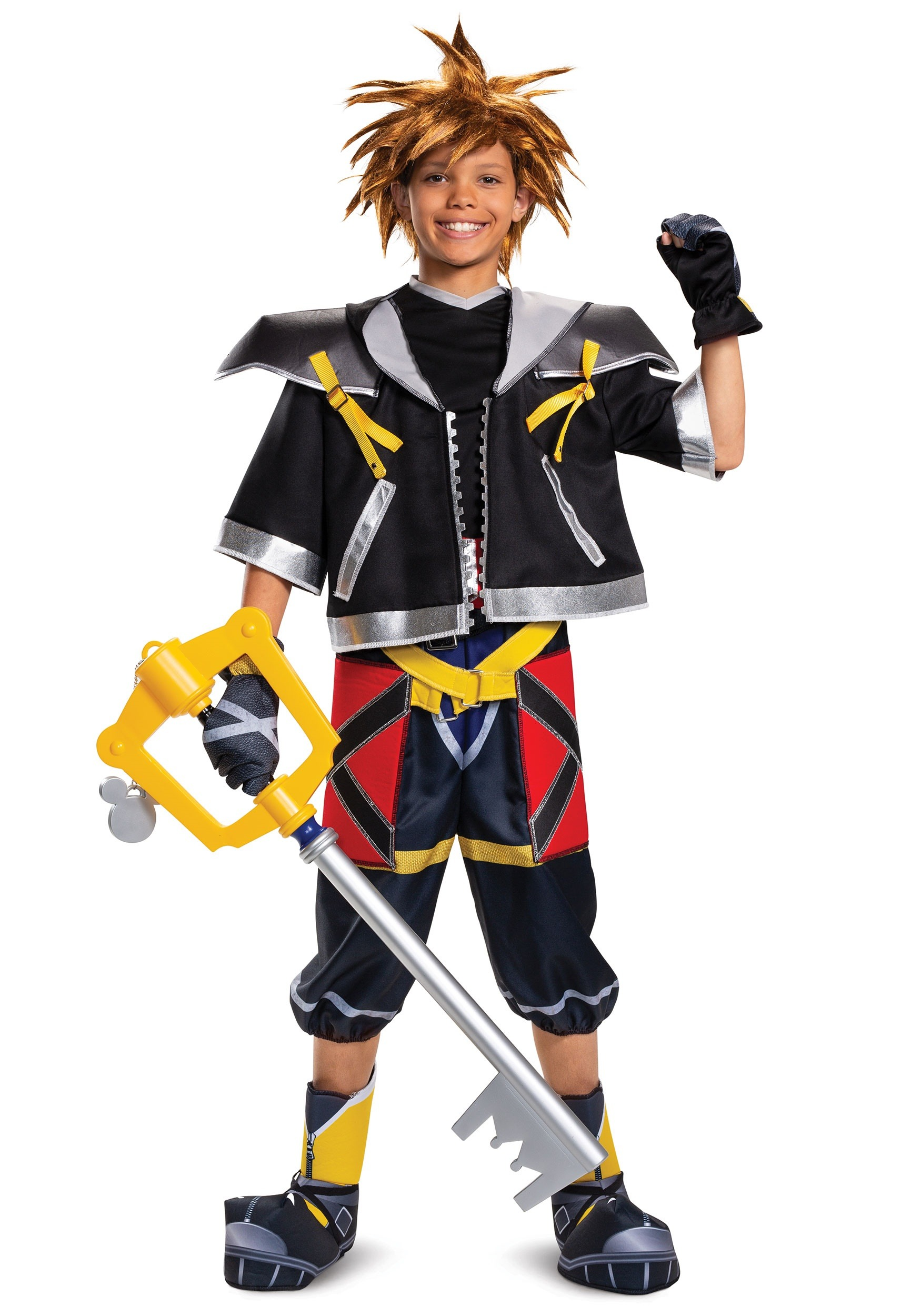 Deluxe Kingdom Hearts Teen Sora Costume Bott Funko Pop Riku