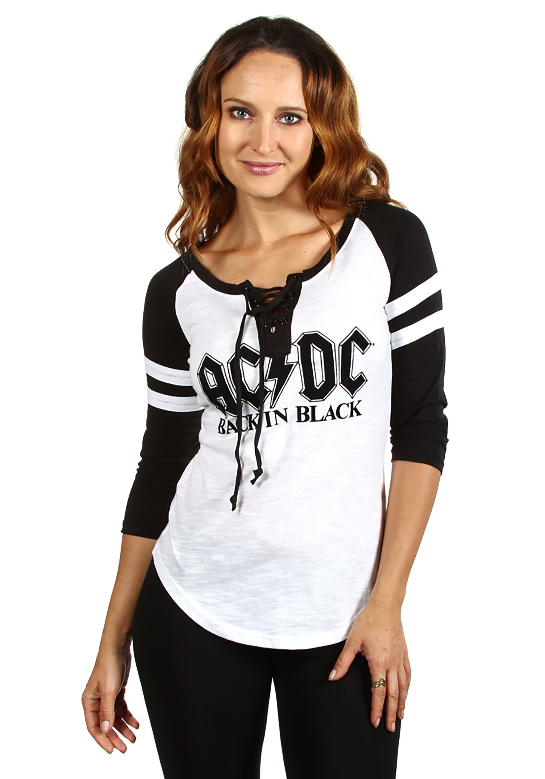 AC//DC For Those About To Rock Black And White Adult T Shirt Heavy Metal Music