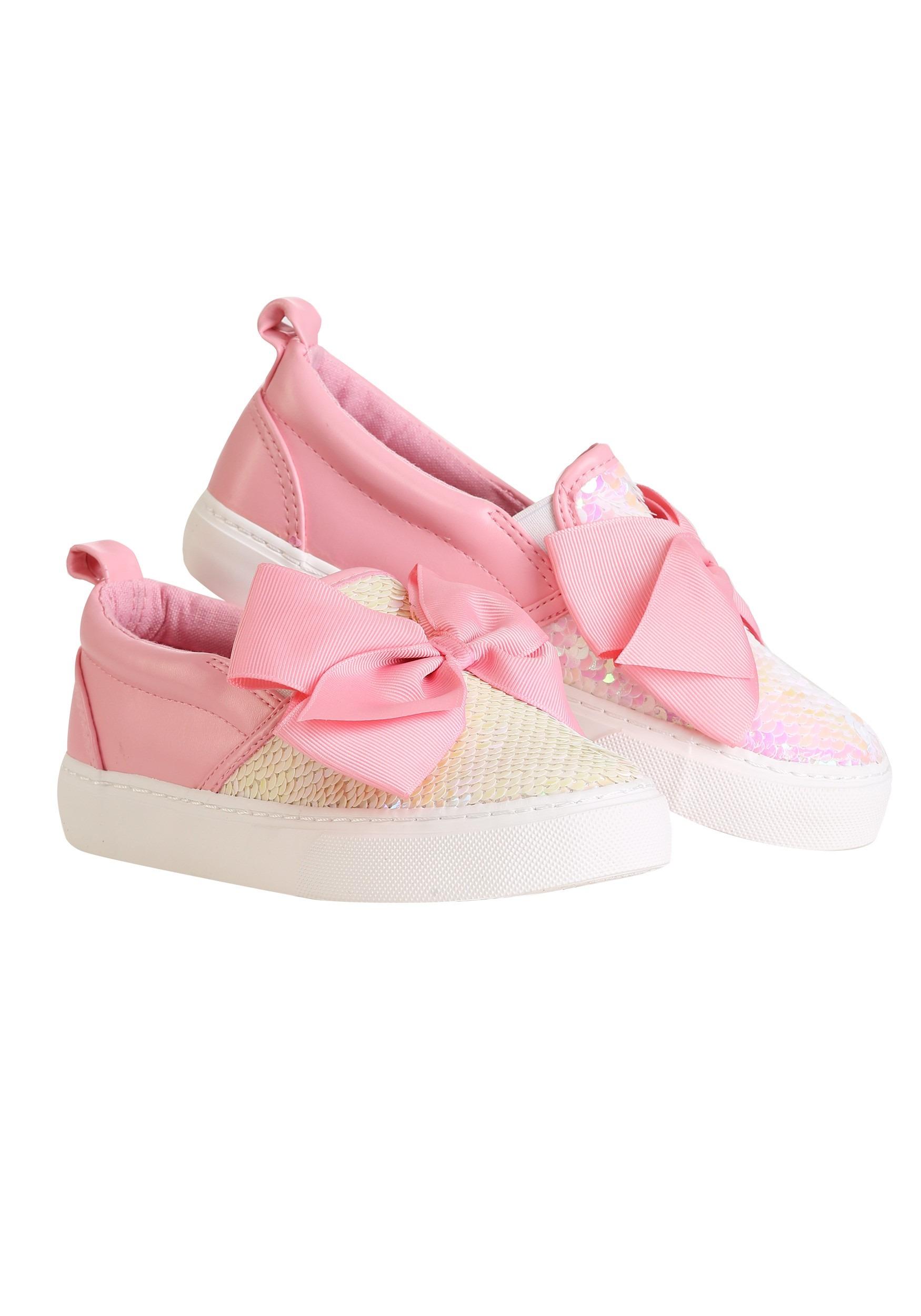 28fc975da92 Jojo Siwa Big Girl Pink Bow & Sequin Sneakers