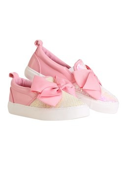 Jojo Siwa Big Girl Pink Bow & Sequin Sneakers