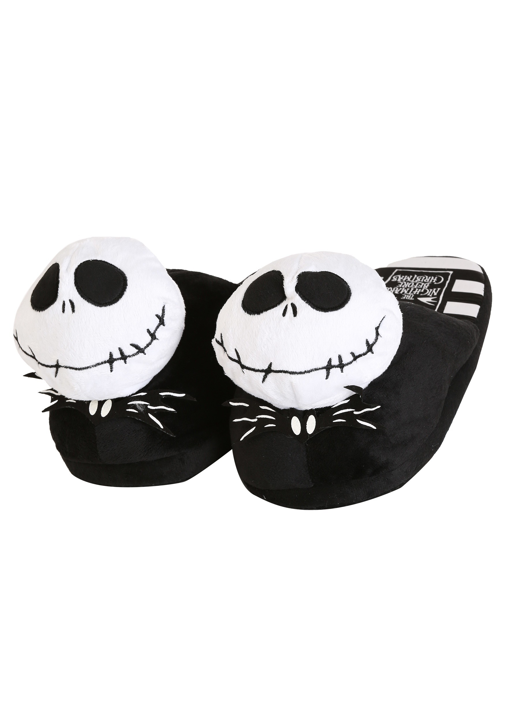 nightmare before christmas jack skellington mens slippers - Christmas Jack Skellington