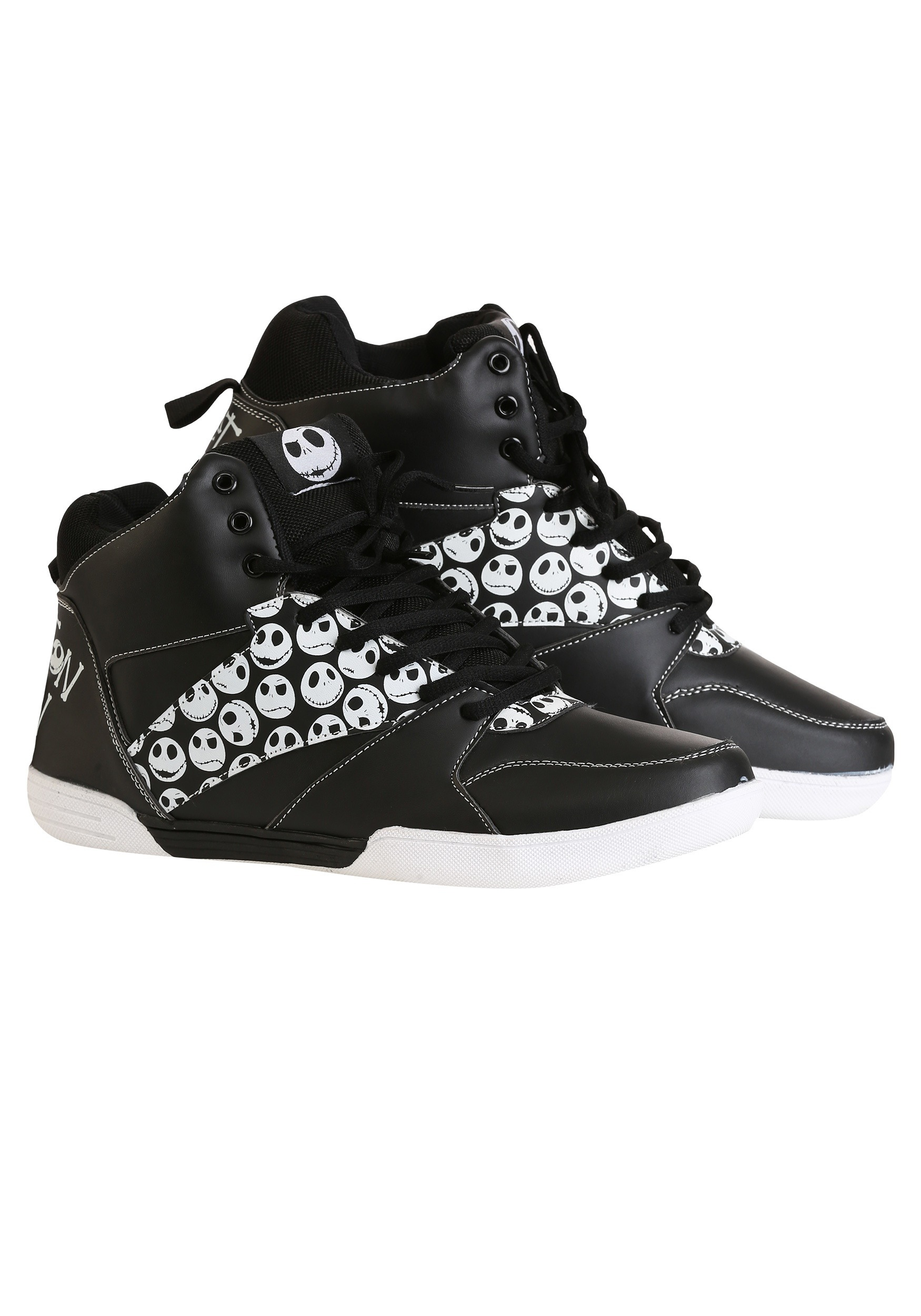 2dcbb5b66d23 Nightmare Before Christmas Jack Skellington High-Top Sneakers for Men