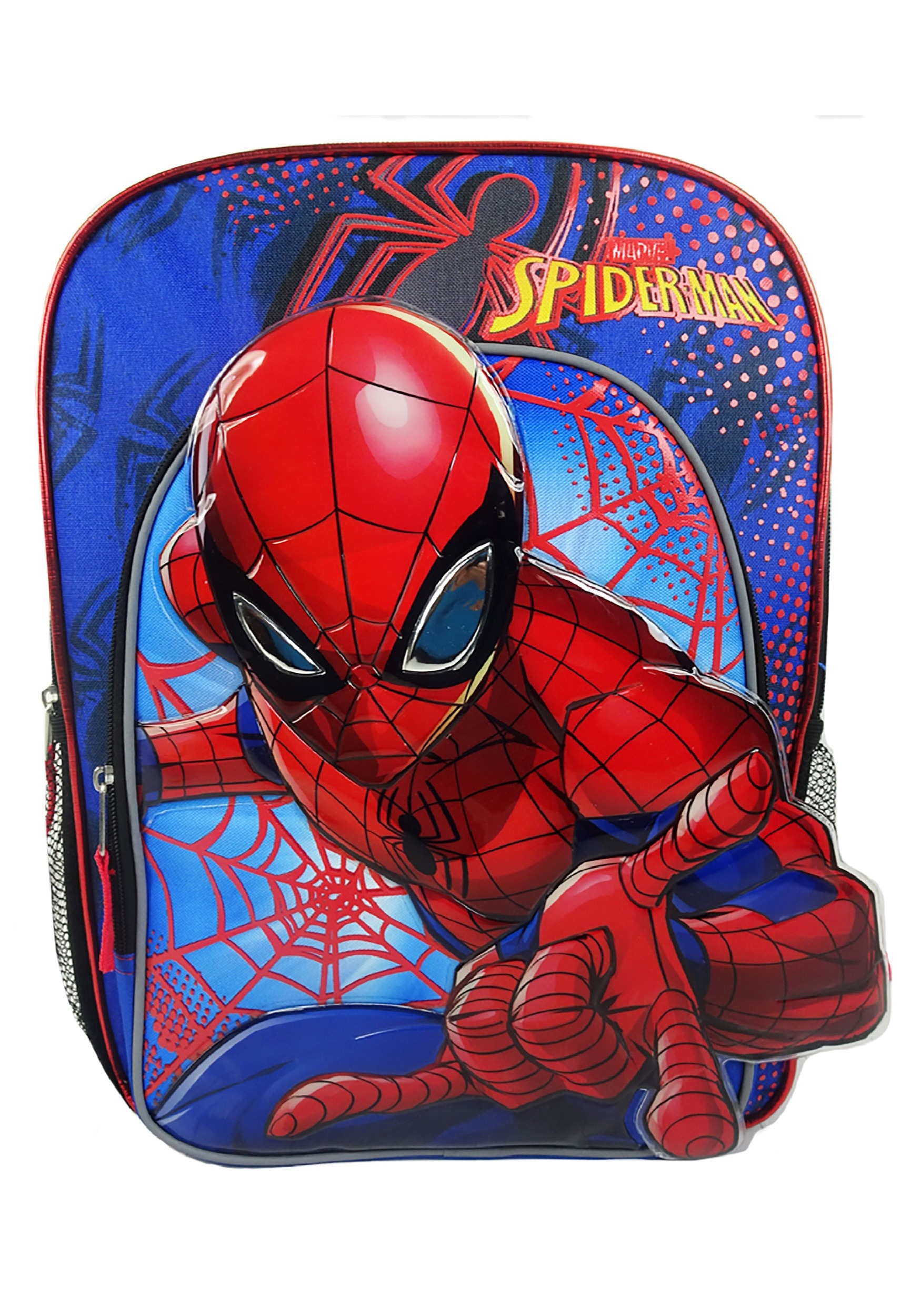 6aed3d66401e2d Spiderman Kids Blue Backpack
