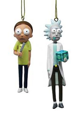 Rick & Morty Figure Ornament Set 2