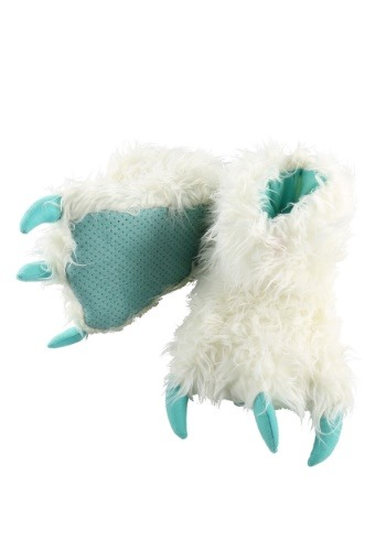 Kid's Yeti Paw Slippers