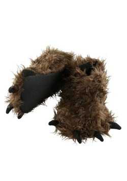 Kid's Bigfoot Paw Slippers