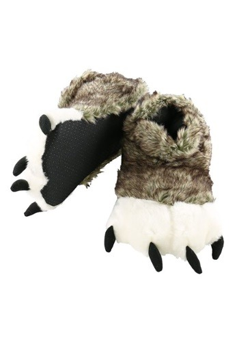 Kid's Wolf Paw Slippers