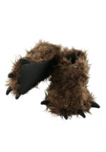 Adult Bigfoot Paw Slippers
