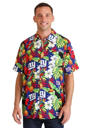 Men's New York Giants Floral Shirt