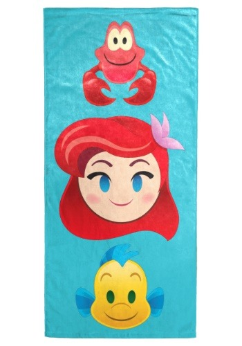 Disney Little Mermaid Emoji Beach Towel