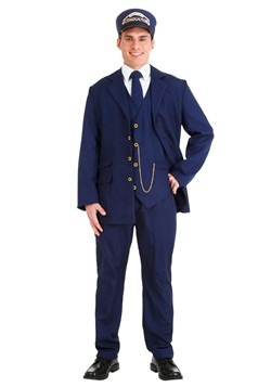 North Pole Train Conductor Costume Adult