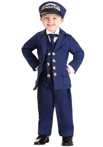 Toddler North Pole Train Conductor Costume Upd