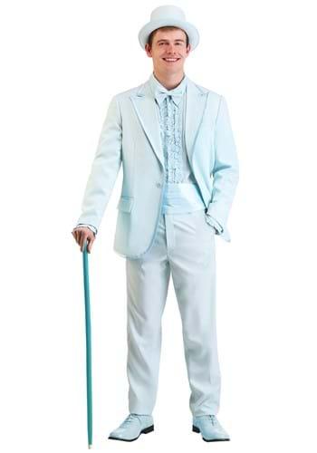 Powder Blue Tuxedo Adult Costume
