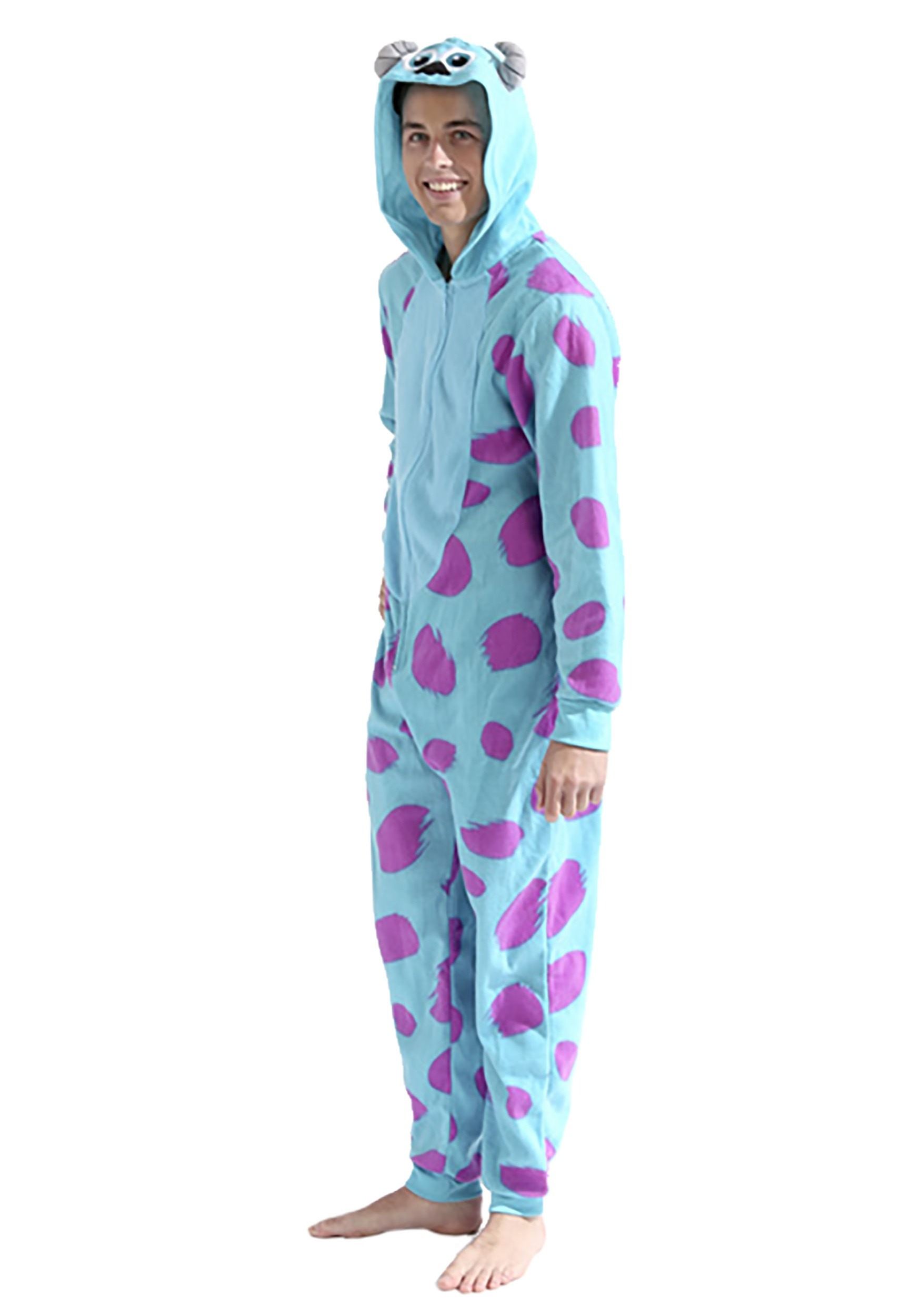 Sulley Monsters Inc Men S Pajama Costume
