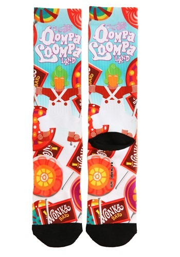 Willy Wonka Oompa Loompa Adult Socks update