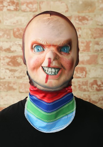 Adult Child's Play 2 Chucky Fabric Mask