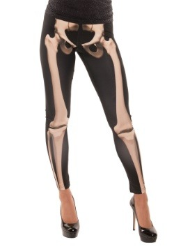 Adult Skeleton Leggings