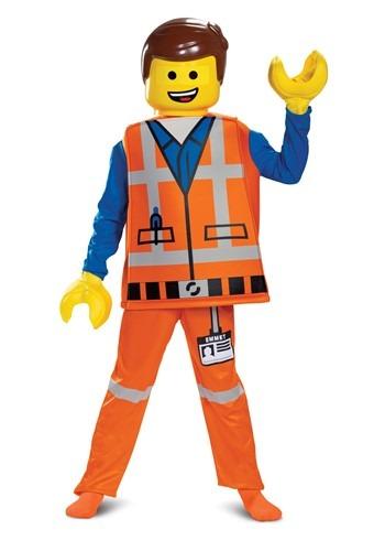 Emmet LEGO Movie 2 Boys Deluxe Costume
