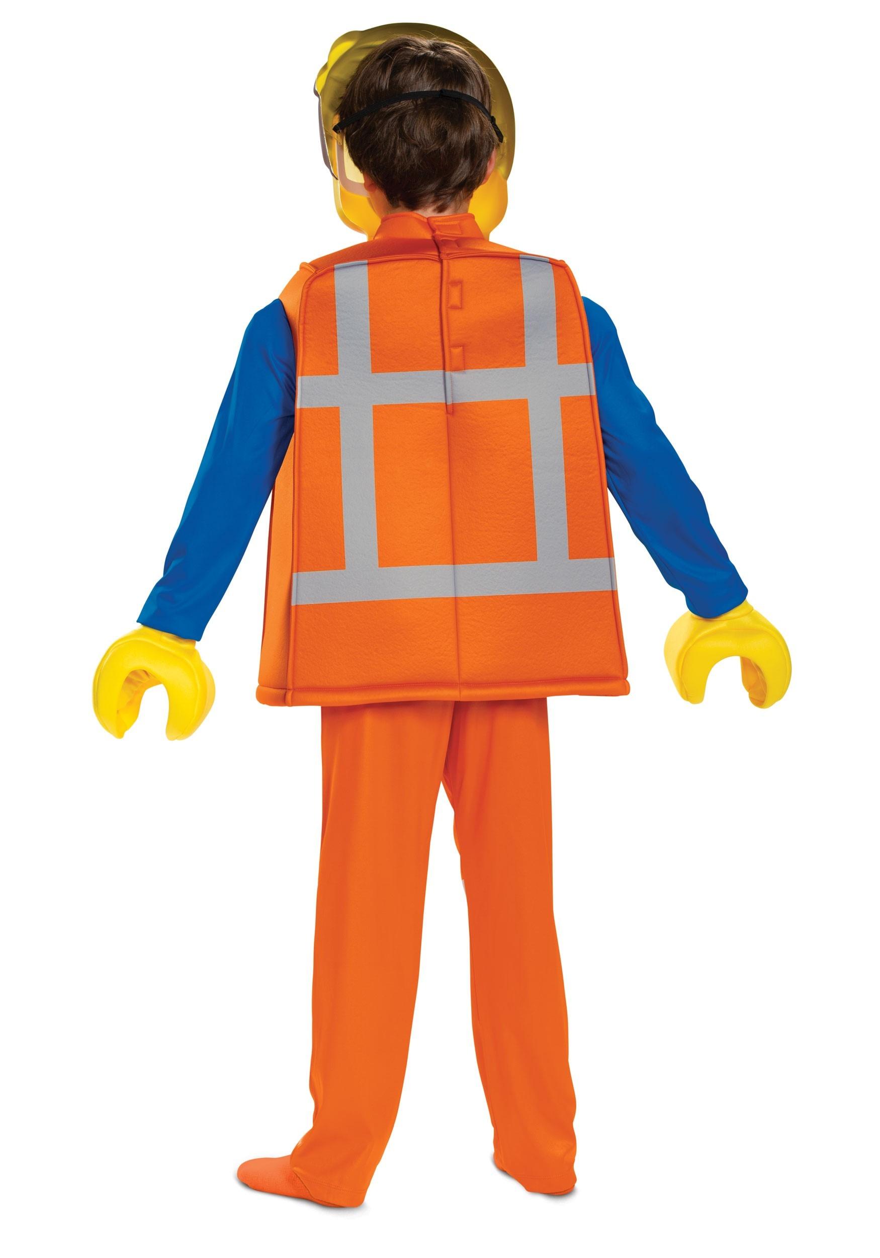 Boys Lego Movie 2 Emmet Deluxe Costume