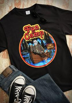 Mens Friday the 13th Fun at Camp Black TShirt Update