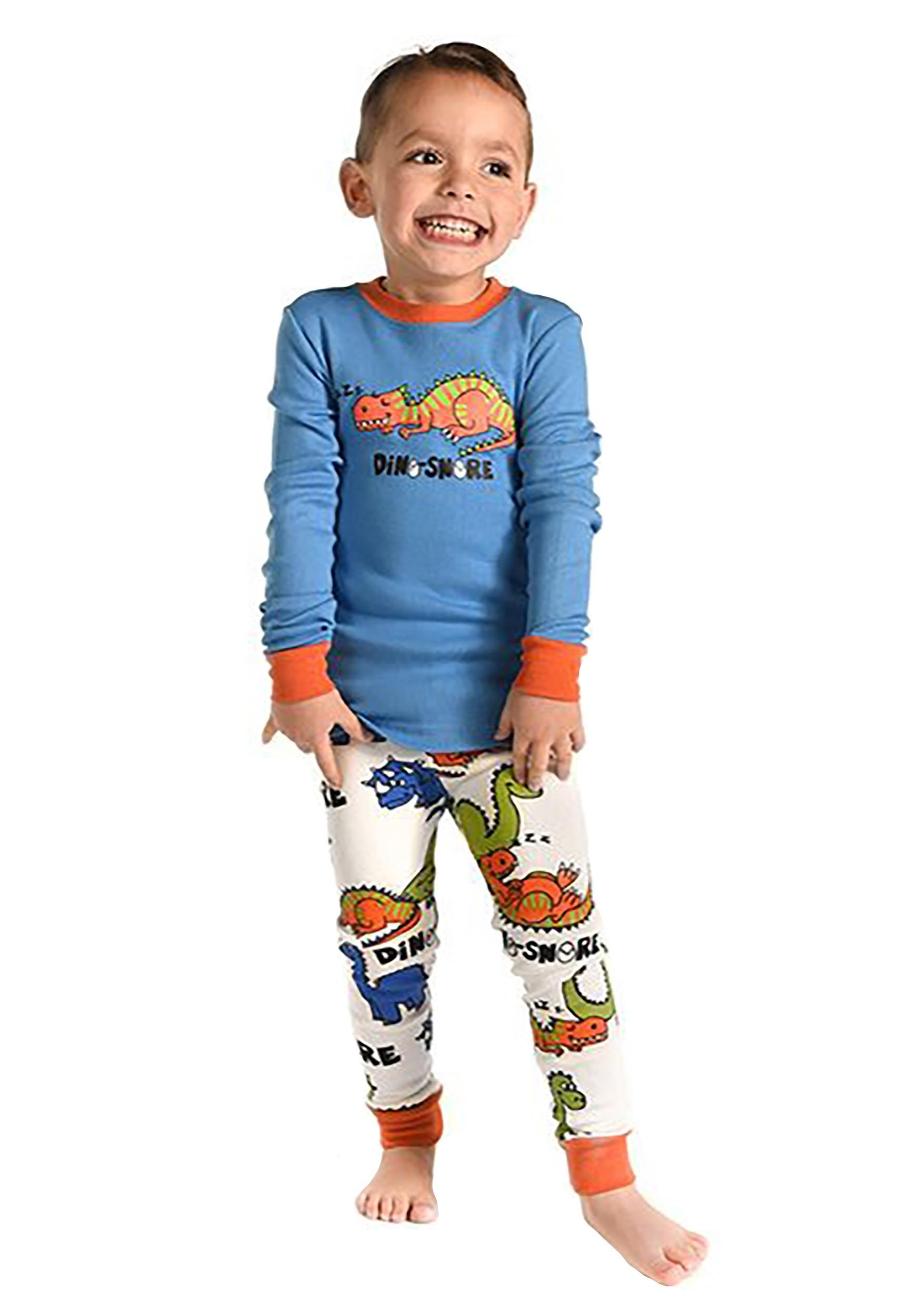 THE Crafts Little Boys Dino Pajamas Set Children PJs 100% Cotton Sleepwear Pajama  Sets Boys