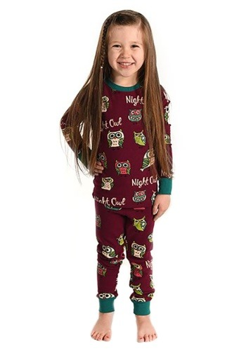 Night Owl Kids Long Sleeve Pajama Set-update1