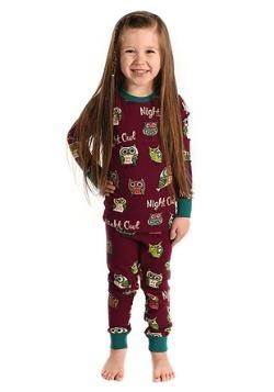 Night Owl Kids Long Sleeve Pajama Set-update1