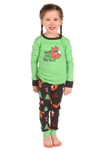 Bright Eyed and Bushy Tailed Kids Fox Long Sleeve
