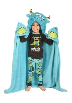 Monster Critter Kids Blanket