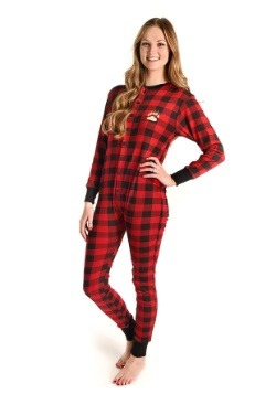 Adult Bear Cheeks Flapjack Pajamas