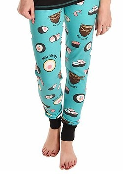 Womens Sushi Pajama Leggings