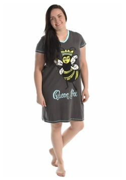 Women's Queen Bee Fitted Night Shirt