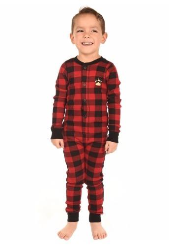 Kids Bear Cheeks Flapjack Pajamas