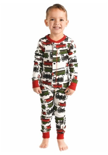Kids Trains Caboose Flapjack Pajamas