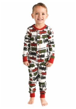 Kids Trains Caboose Flapjack Pajamas